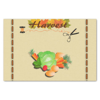 Autumn Leaves and Harvest Tissue Paper