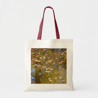Autumn Leaves and Stream Reflection at Greenbelt Tote Bag
