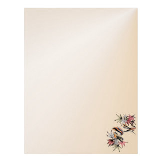 Autumn Leaves and Two Birds letterhead2_vertical. Letterhead