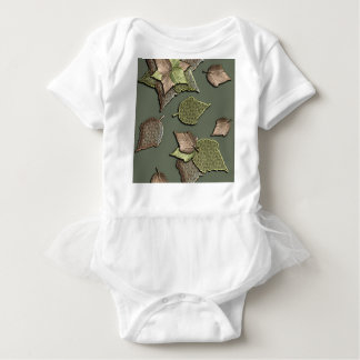 Autumn Leaves Baby Bodysuit