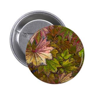 Autumn Leaves - Button 2