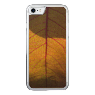 Autumn Leaves Carved iPhone 8/7 Case