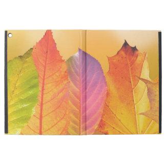 "Autumn Leaves Colorful Modern Fine Art Photography iPad Pro 12.9"" Case"