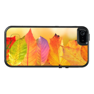 Autumn Leaves Colorful Modern Fine Art Photography OtterBox iPhone 5/5s/SE Case