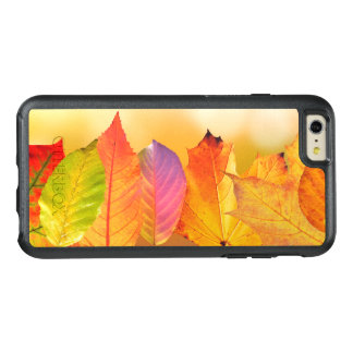Autumn Leaves Colorful Modern Fine Art Photography OtterBox iPhone 6/6s Plus Case