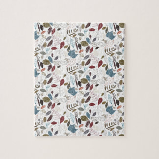 Autumn leaves cool breeze jigsaw puzzle
