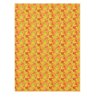 Autumn Leaves Cotton Tablecloth