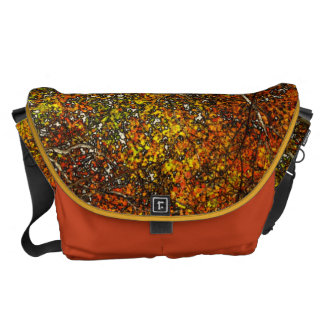 Autumn Leaves Courier Bags
