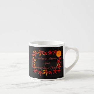 Autumn Leaves Espresso Cup
