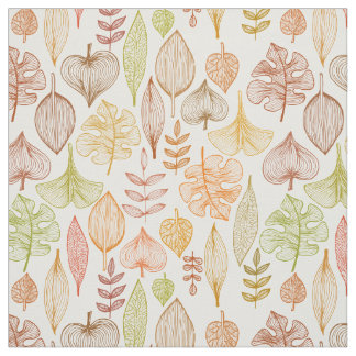 Autumn Leaves Fabric