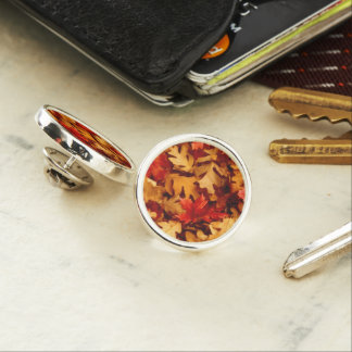 Autumn Leaves - Fall Color Lapel Pin