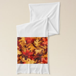Autumn Leaves - Fall Color Scarf