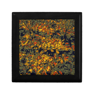 Autumn leaves gift boxes