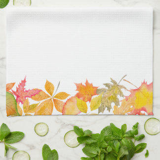 Autumn Leaves Hand Towel