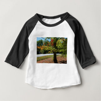 Autumn Leaves in Maine Baby T-Shirt
