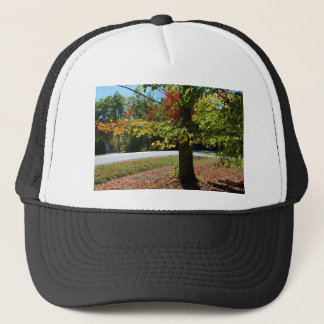 Autumn Leaves in Maine Trucker Hat