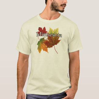AUTUMN LEAVES IN MINNESOTA T-Shirt