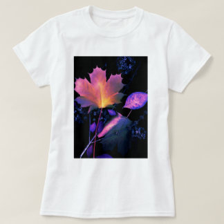Autumn Leaves in Neon T-Shirt