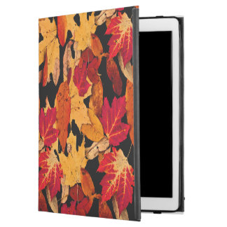 """Autumn Leaves in Red Orange Yellow Brown iPad Pro 12.9"""" Case"""
