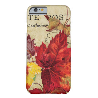 Autumn Leaves in Rich Colors Barely There iPhone 6 Case