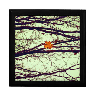 Autumn Leaves Keepsake Box