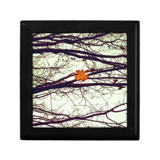 Autumn Leaves Keepsake Boxes