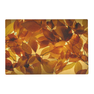 Autumn Leaves Laminated Place Mat