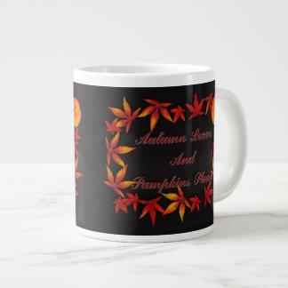 Autumn Leaves Large Coffee Mug