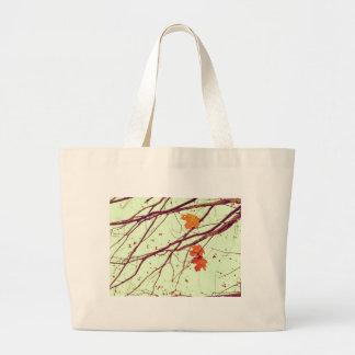 Autumn Leaves Large Tote Bag