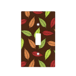 AUTUMN LEAVES LIGHT SWITCH COVER