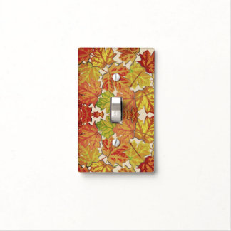 Autumn Leaves Light Switch Cover for Home Decor