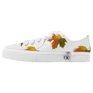 Autumn Leaves Low-Top Sneakers