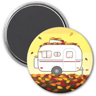 Autumn Leaves Magnet