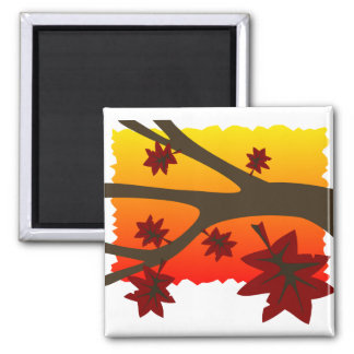 Autumn Leaves Magnet