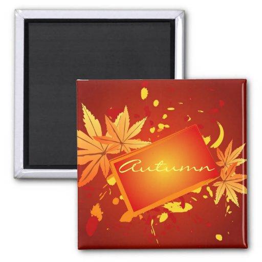 Autumn leaves - Magnet