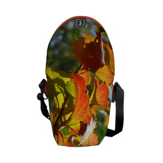 Autumn Leaves Messenger Bags
