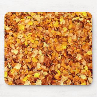 Autumn Leaves Mouse Mat Mouse Pad