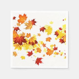 Autumn Leaves Napkins Disposable Napkin