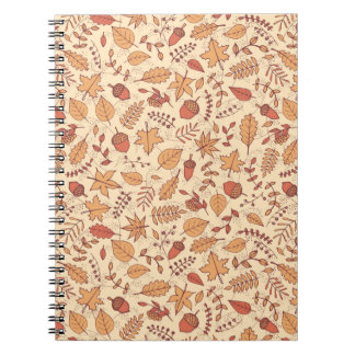 Autumn Leaves Notebooks