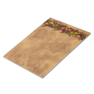 Autumn Leaves Notepad