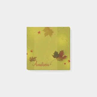 Autumn Leaves Ornaments - Post-it® Notes