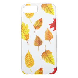 Autumn leaves pattern iPhone 8/7 case