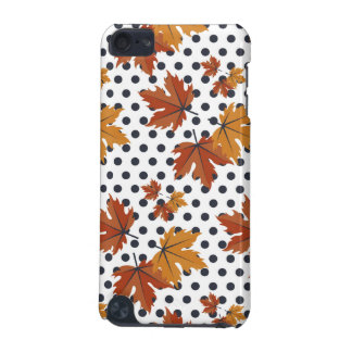Autumn Leaves Pattern iPod Touch (5th Generation) Covers