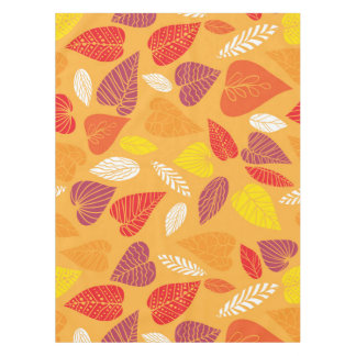 Autumn Leaves Pattern Tablecloth