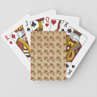 Autumn Leaves Playing Cards
