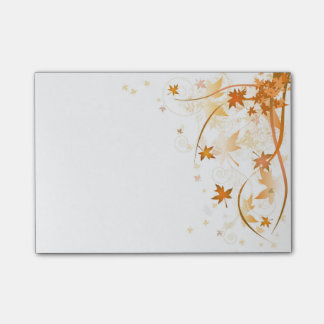 Autumn Leaves Post-it® Notes