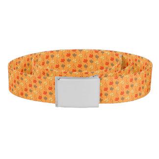 Autumn Leaves Print Belt