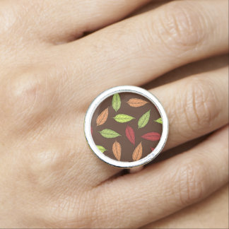 AUTUMN LEAVES RING