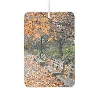 Autumn Leaves Riverside Park New York City NYC Air Freshener