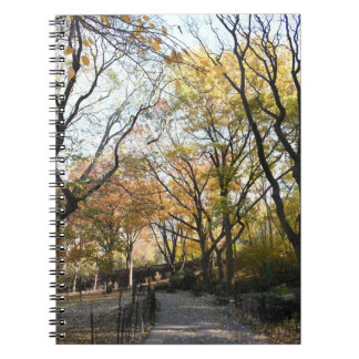 Autumn Leaves Riverside Park New York City NYC Notebook